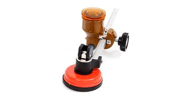 MaquiGra Cortador de Vidrios Circular Profesional con Alta precisión de Corte y Control Automático de Aceite Máquina de Corte de Vidrio Grueso Cuchillo de Empuje de Azulejo Ajustable